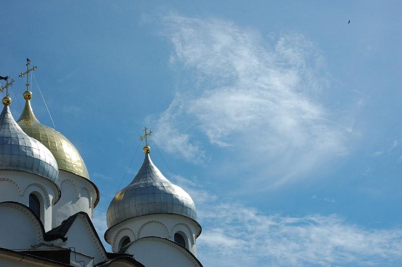 Купола Святой Софии. Новгород, 2008 год. Сергей Томас