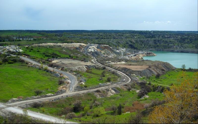 Донецк, Донбасс, терриконы, шахты. Фото Коренева Тамара