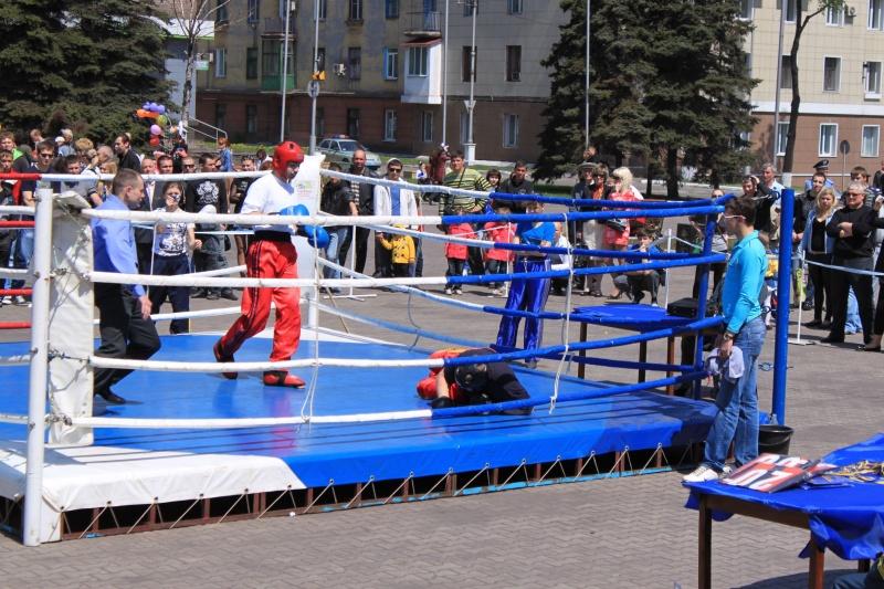 Открытый ринг по боевым искусствам. Енакиево.