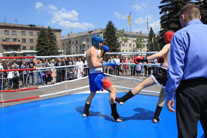 Открытый ринг по боевым искусствам в Енакиево