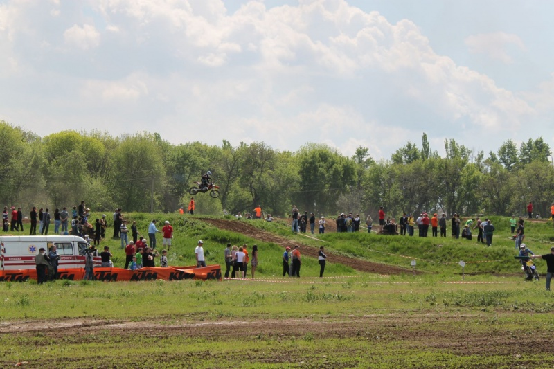 Чемпионат Украины по мотокроссу г. Енакиево