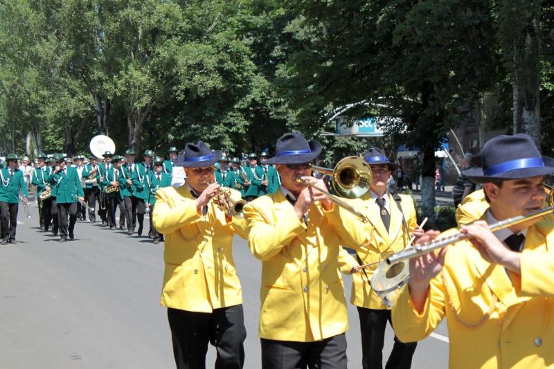 Открытый областной фестиваль духовых оркестров в Енакиево 28 мая 2011 год