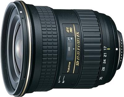 Новый объектив Tokina AT-X 17-35mm f/4 Pro FX