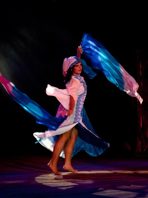 Отчетный концерт студии танца «Жемчужина Востока». Красноармейск