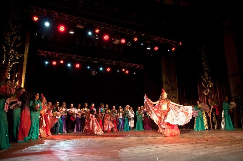 Отчетный концерт студии танца «Жемчужина Востока». Красноармейск.