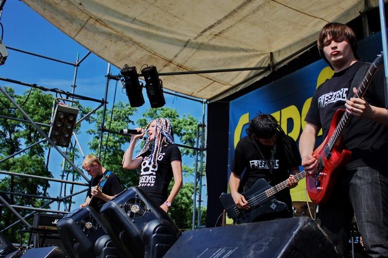Байк-рок фестиваль к столетию города Димитрова и Дню молодежи