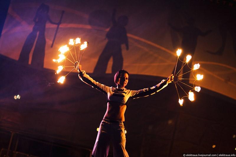 Kiev Fire Fest 2011. Фото О.Стельмах