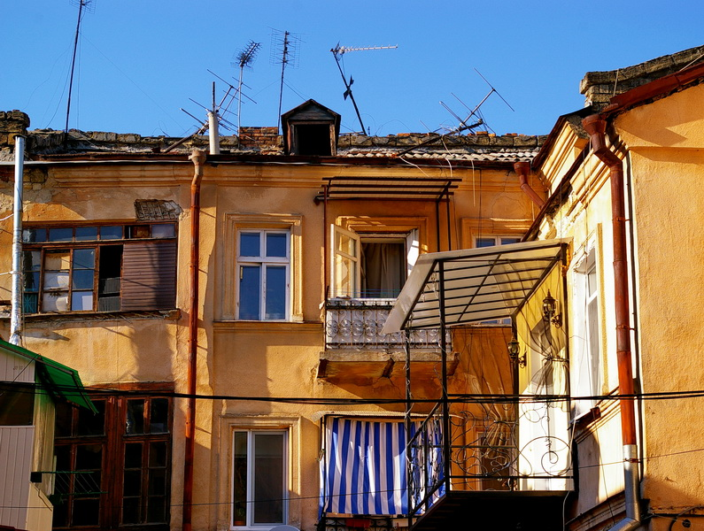 одесса, дворики