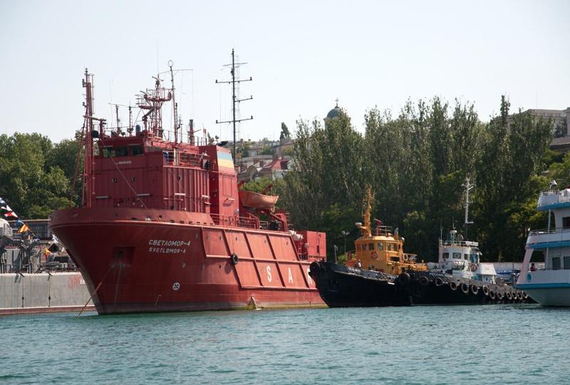 Корабли Севастопольской бухты