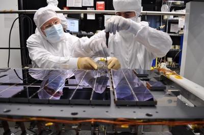 Крупнейшая цифровая камера построенная для космического полёта