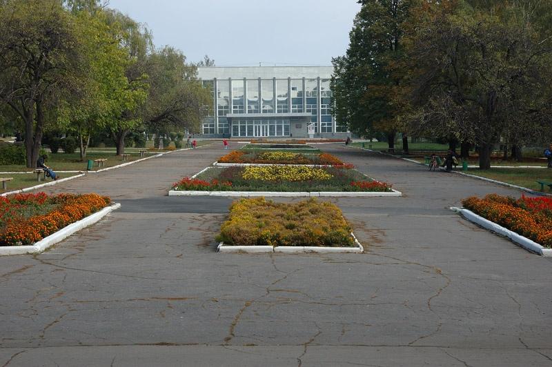 Реконструкция площади им. Шибанкова в Красноармейске. Фото Сергей Томас