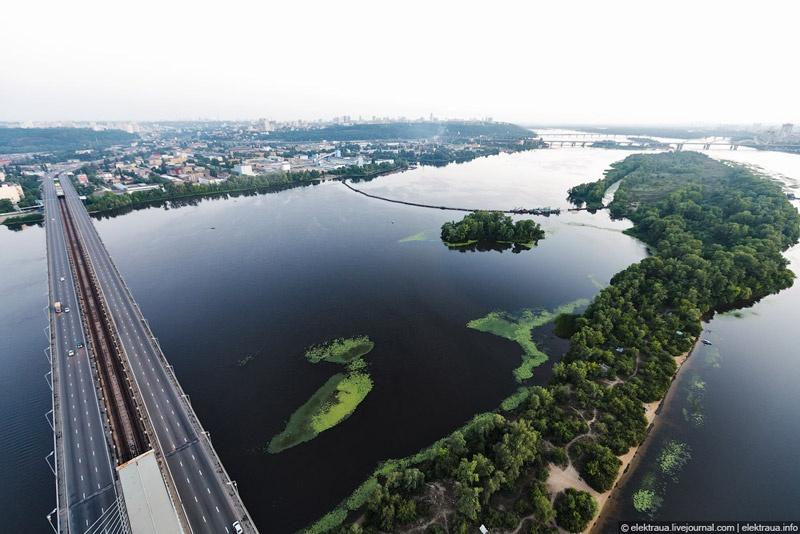 Южный мост. Киев. Фото Олег Стельмах