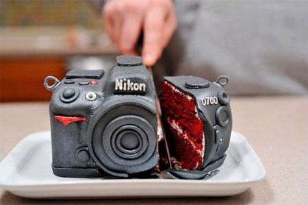 Торт – фотоаппарат