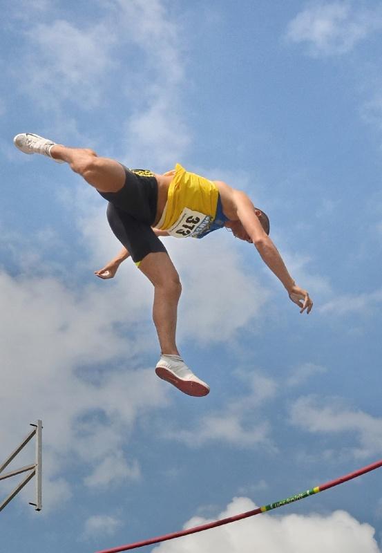 Чемпионат Украины по легкой атлетике. Прыжки с шестом. Донецк 2011 год.