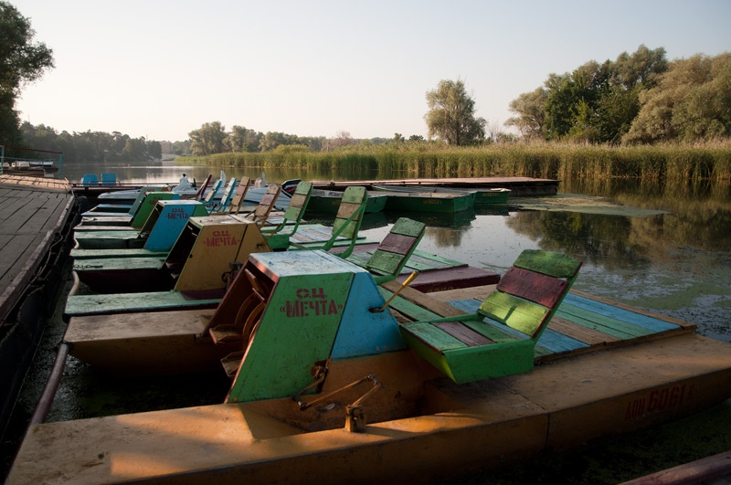 Голубые озера, поселок Щурово. Донецкая область