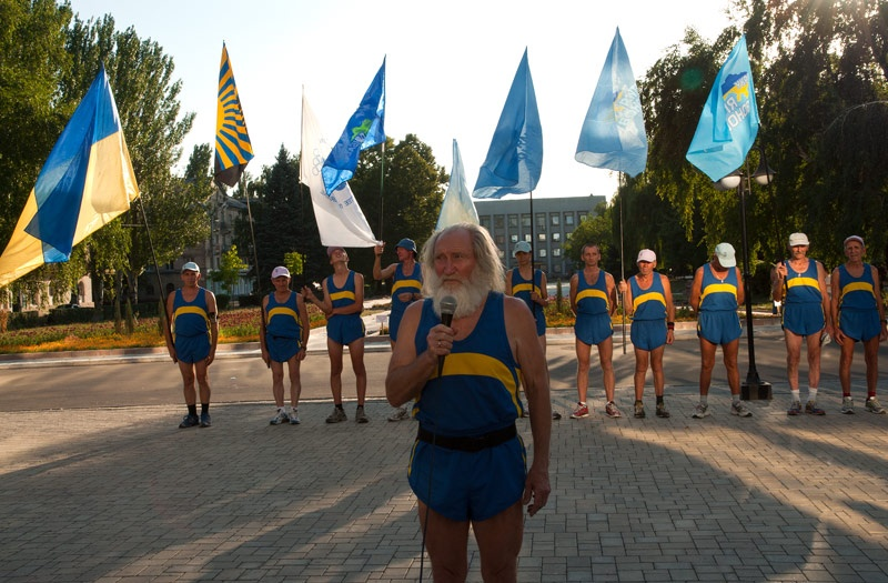 Супермарафон «Восток-Запад» в Красноармейске