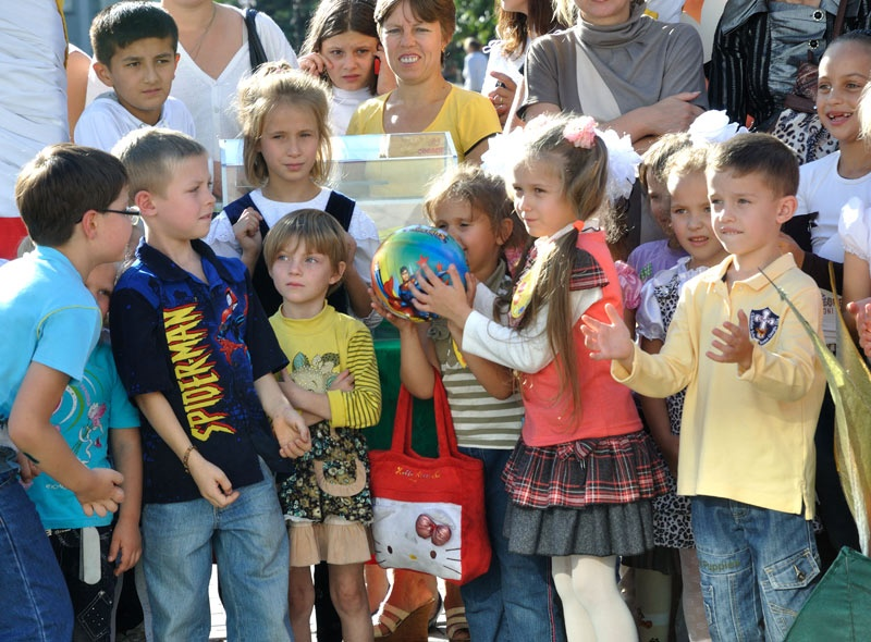Открытие творческого сезона во Дворце культуры. Красноармейск