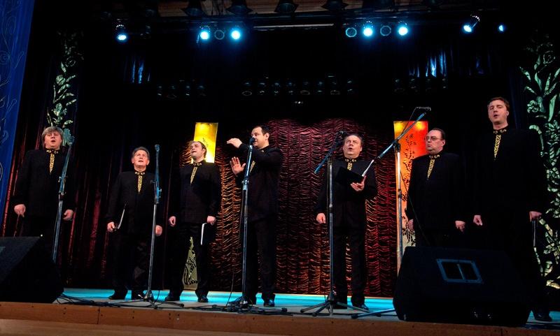 Мужской хор «Оптина пустынь». Концерт в г. Красноармейске