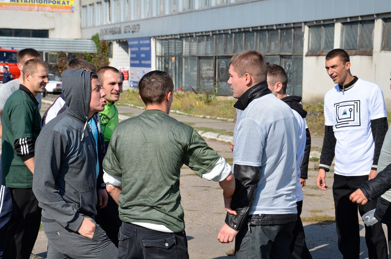 К ЕВРО-2012 в Красноармейске учились усмирять разбушевавшихся футбольных фанатов