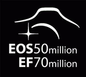 Canon: 50 млн камер EOS и 70 млн объективов EF
