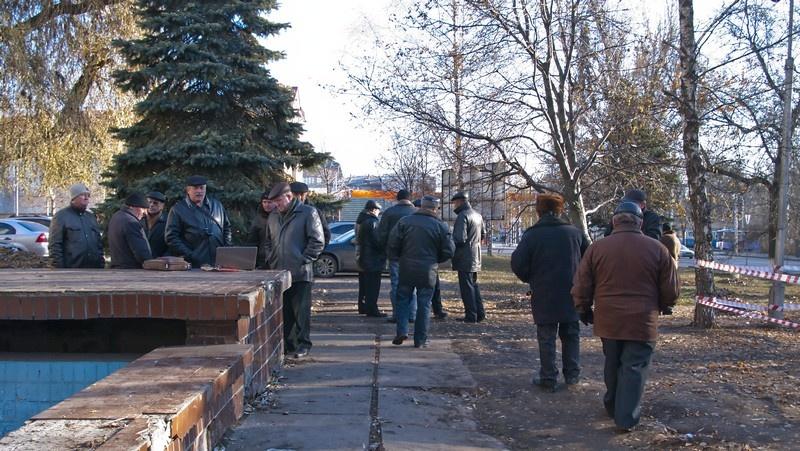 Чернобыльцы, Донецк, палаточный городок