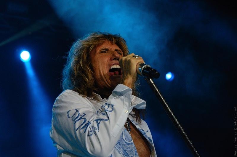 Девид Ковердейл. David Coverdale & Whitesnake в Днепропетровске. Фото Сергей Томас