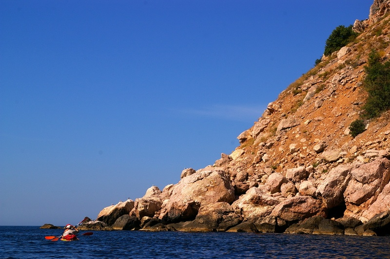 каякинг, Крым, Черное море