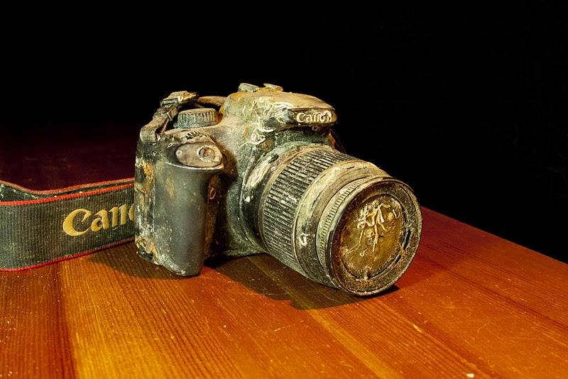 Canon EOS 1000D подняли со дна Тихого океана