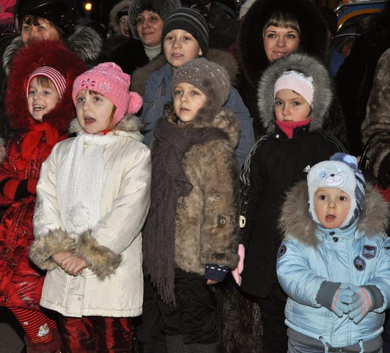 Новогодняя елка-2012 в Красноармейске