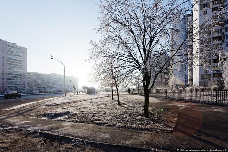 Про тёплую киевскую зиму. Фото Олег Стельмах