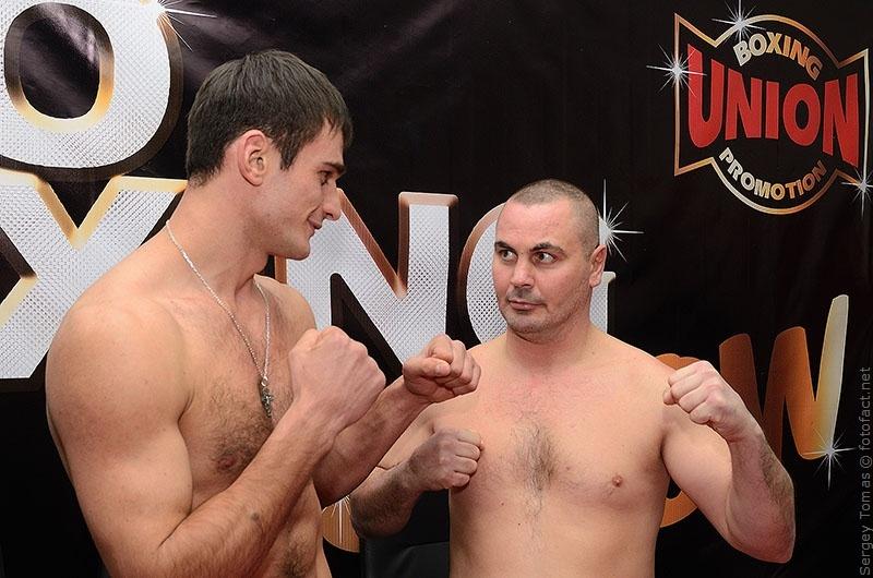 Pro Boxing Show X. Йозеф Надь Яго Киладзе. Фото Сергей Томас. http://fotofact.net