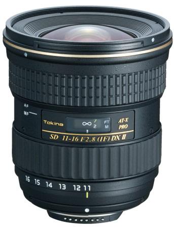 Tokina AT-X 11-16 f/2.8 PRO DX II