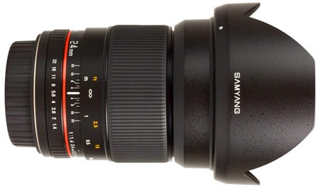 Samyang 24mm f/1.4 D AS UMC