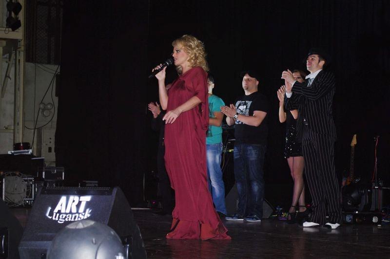 Лариса Долина в Донецке
