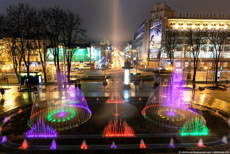 Музыкальный фонтан Крещатик