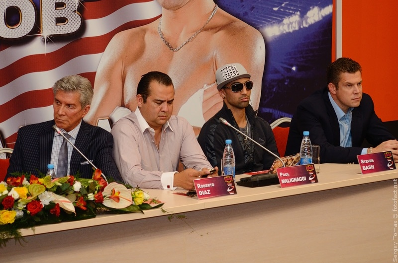 Пресс-конференция Вечер чемпионов в Донецке