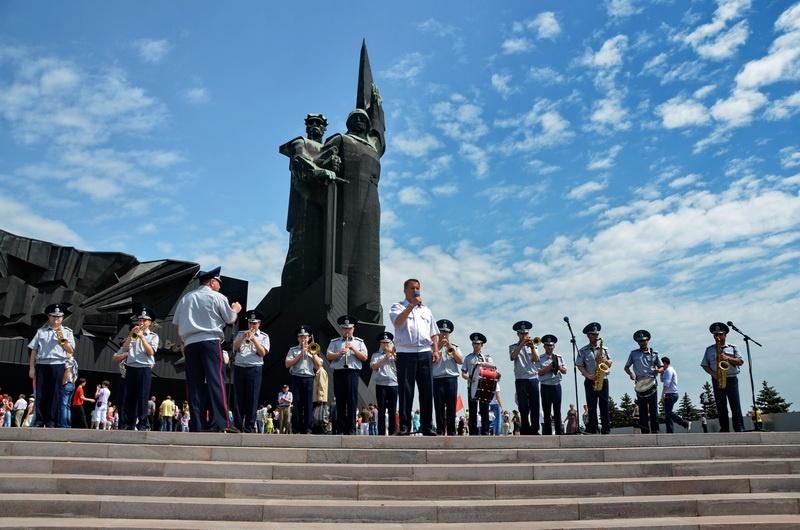 День Победы, Донецк