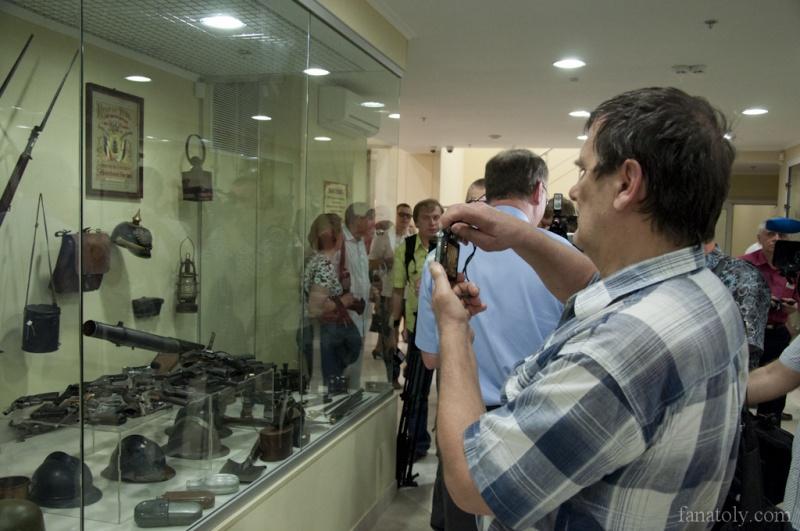 Открытие музея ВОВ в Донецке