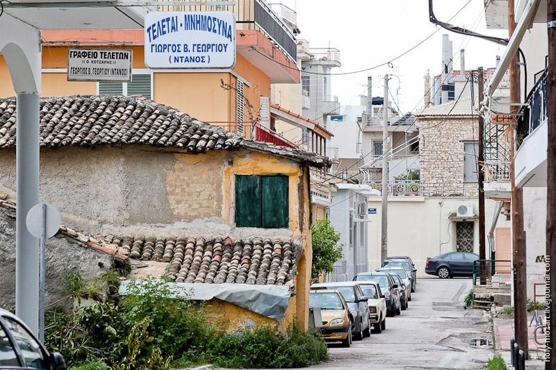 Греция Месолонгион Патры