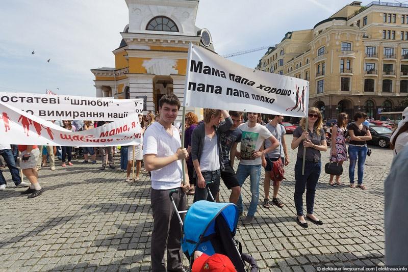 Киев против гей-парада