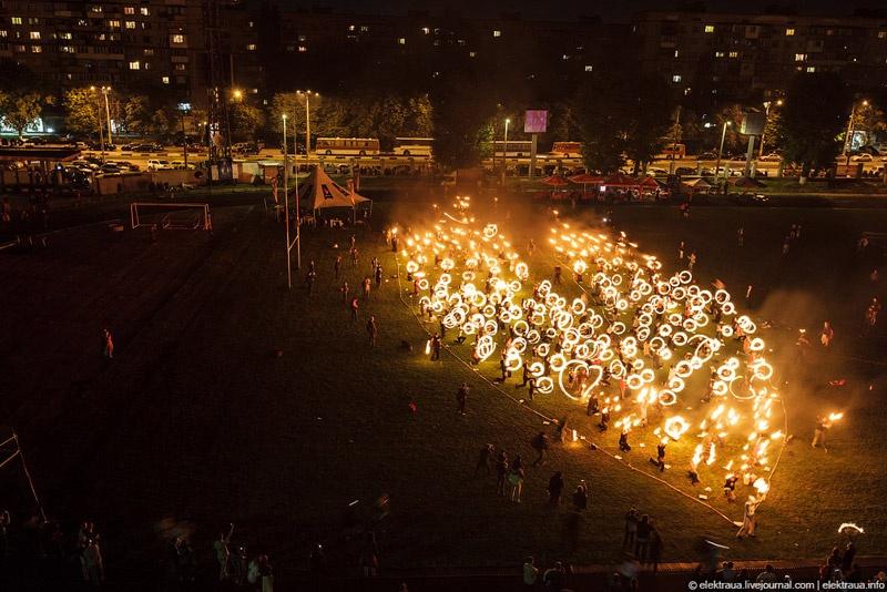 Киев Фаер Фест 2012
