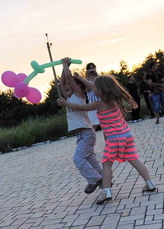 Празднование Дня молодежи в Красноармейске