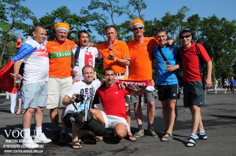 Открытие фан-зоны Евро-2012 в Донецке