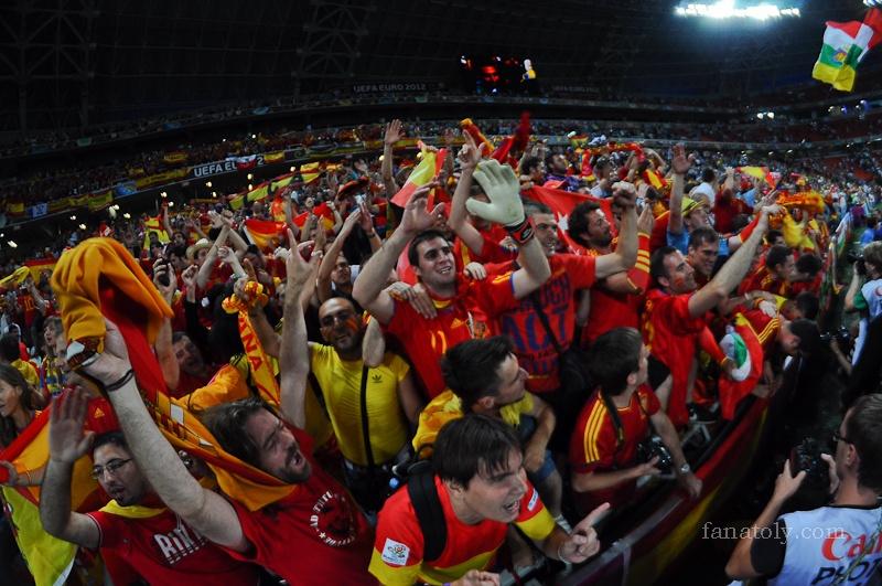 Евро-2012 Португалия-Испания