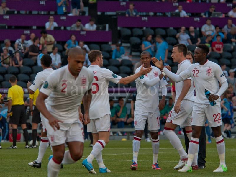 Англия-Франция, ЕВРО-2012