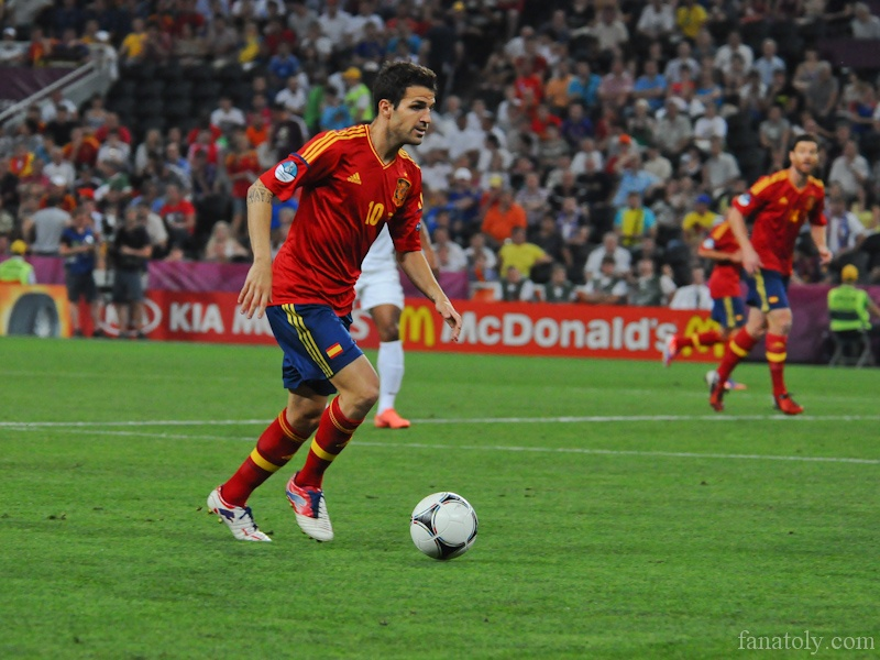 Матч Испания - Франция