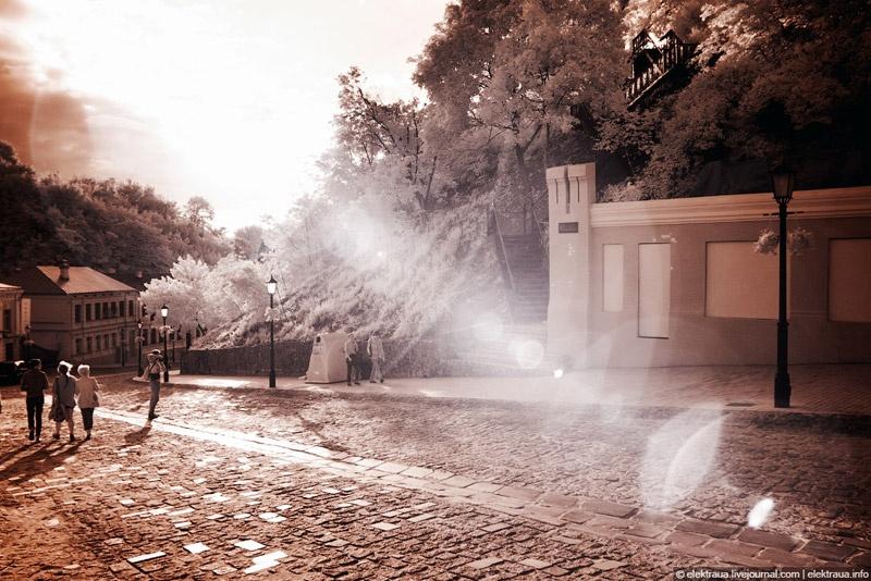 Инфракрасный Киев Андреевский спуск
