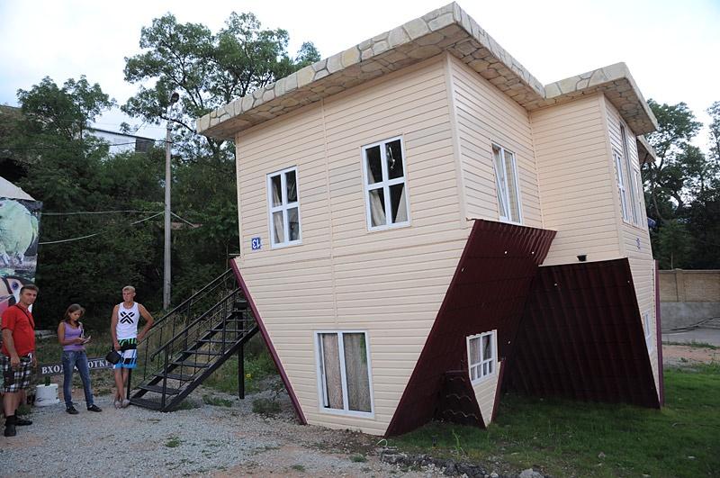 Дом вверх дном. Крым