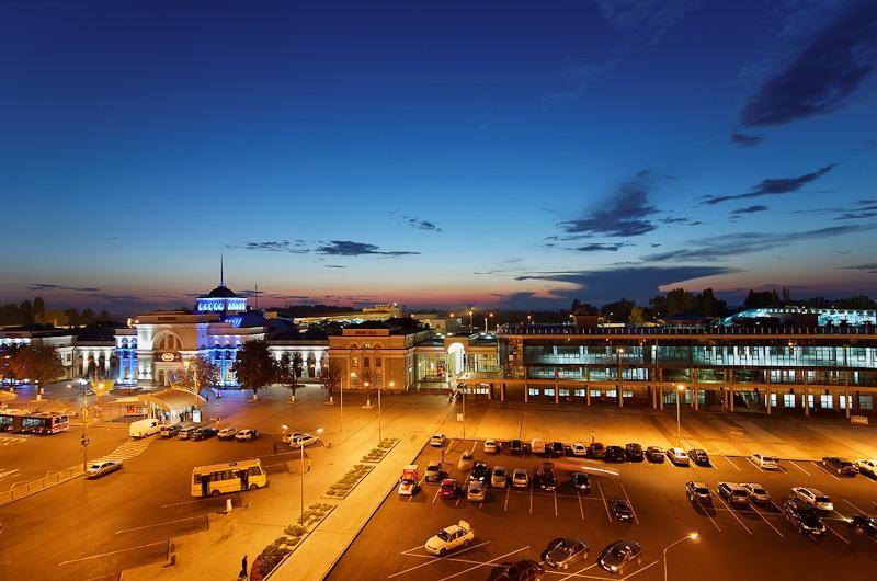 Донецкий жд вокзал