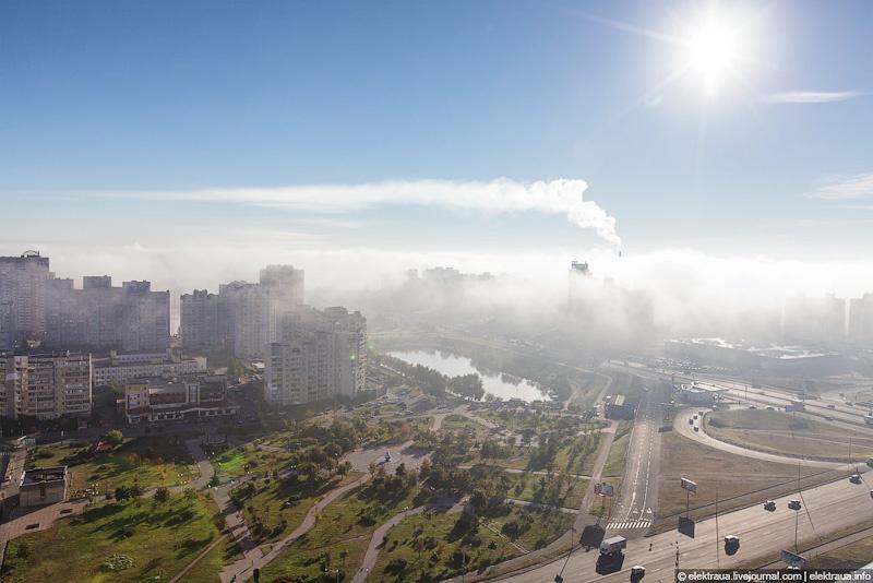 Киев туман